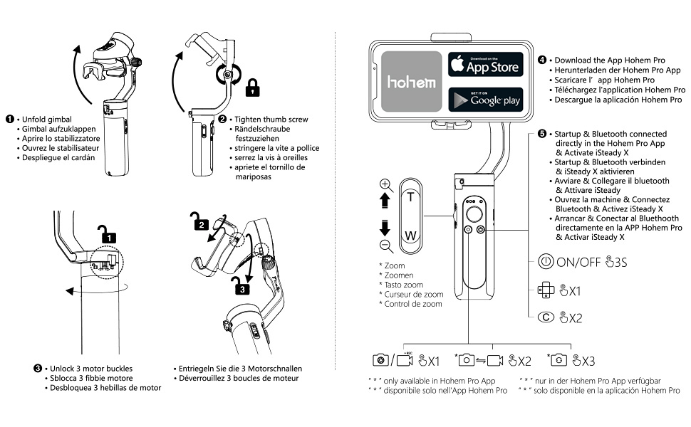 iSteady X Gimbal Phone Stabilizer Use Tips