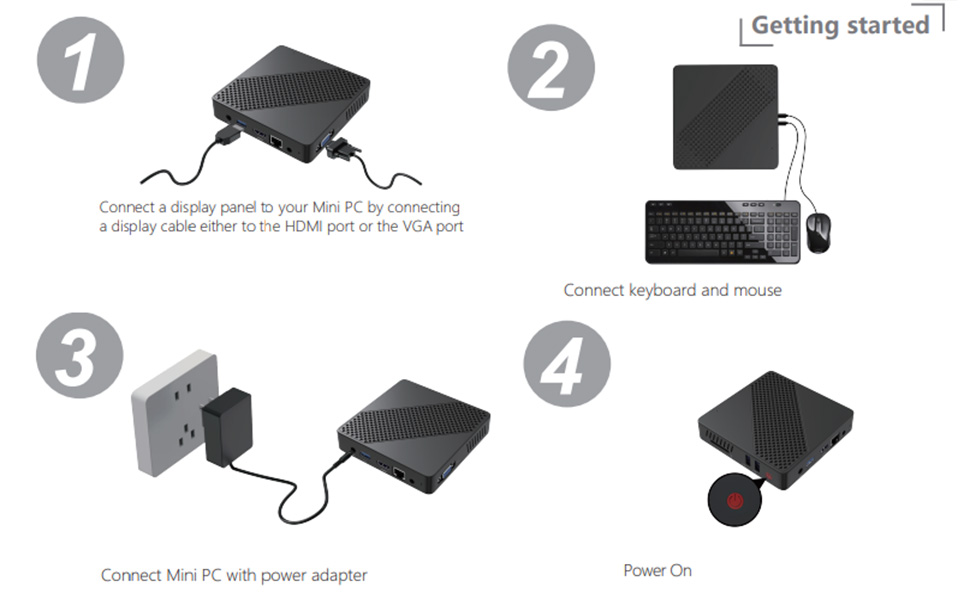 mini pc desktop computer mini pc windows 10 mini desktop computer desktop computer small wireless