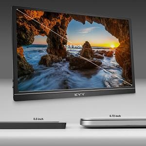15.6inch 1080p IPS potable monitor