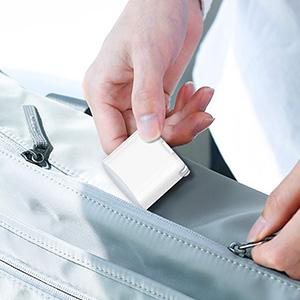 foldable plug and portable