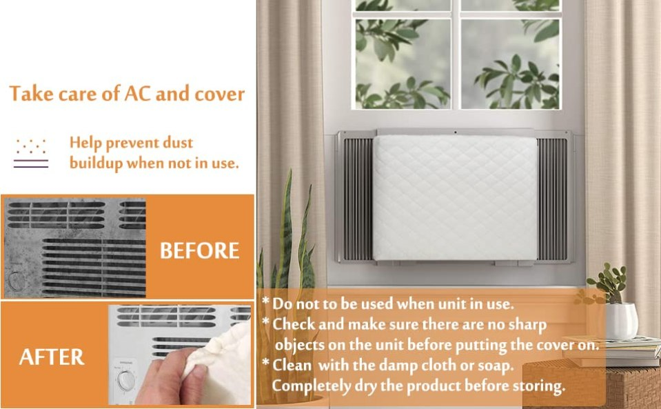 Indoor Air Conditioner Cover AC Cover