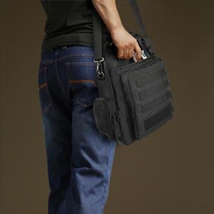 tactical messenger gun bag