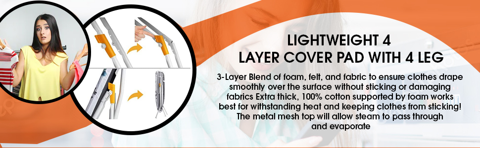 4 layer Cover pad