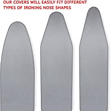 silicone heat reflective scorch resistant covers