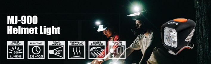mj-900 helmet light