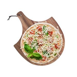 toppings dough homemade DIY pizza veggies cheeses herbs