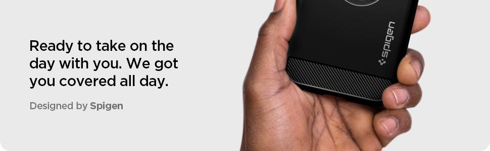 iphone 12 pro max rugged armor - matte black