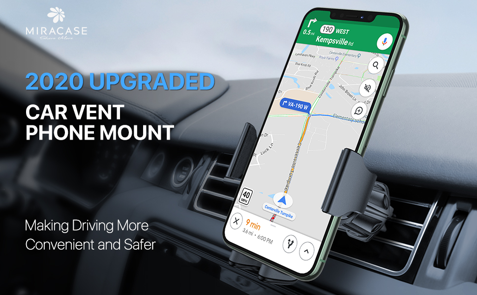 2020 upgraded car vent phone mount