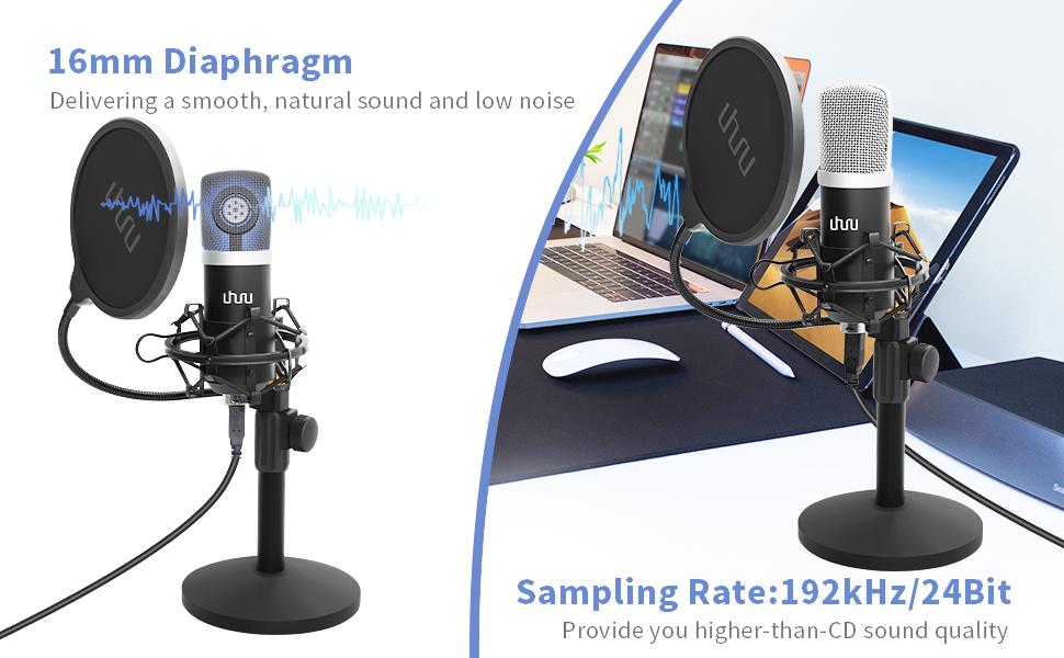 Podcast-USB-Mikrofon-Set