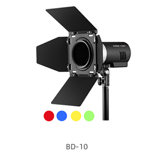 BD-10 Barn door + color filter