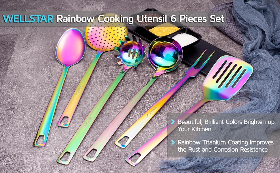 wellstar kitchen cooking utensil set 6