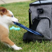 Dog travel bag for supplies