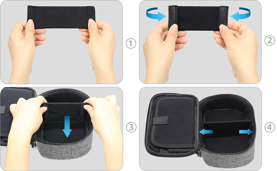 fit hold nintendo switch pro controller wireless controller storage case pouch