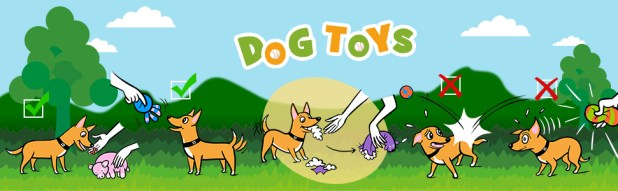 back ground-dog toys