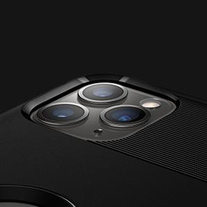 iphone 11 pro max rugged armor - black