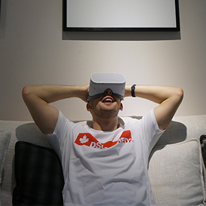 pvr iris vr headset easy to use