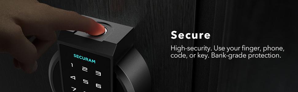 SECURAM Dokunmatik Anahtarsız Giriş Kapı Kilidi