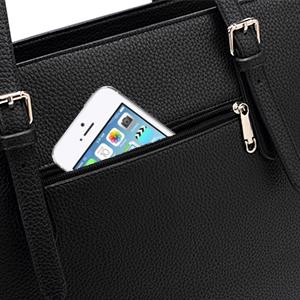 Hidden back pockets