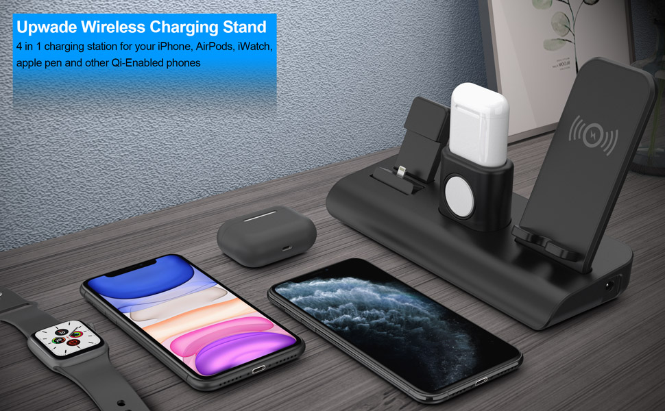 iPhone wireless charging stand charging station