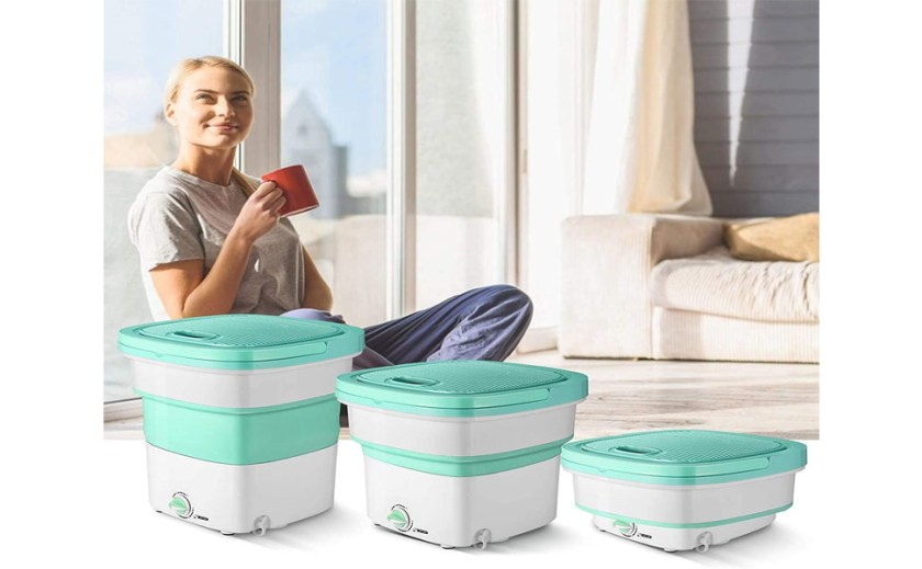 Compact Easy fast use Washing Machine laundry clothes laundry clothes towels underwear socks toys