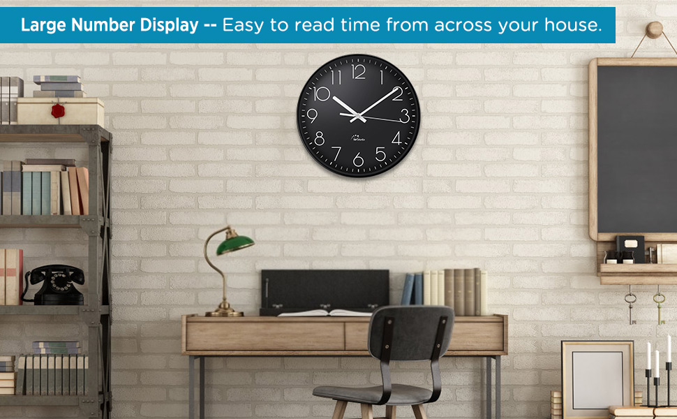 14 inch wall clock
