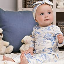 Toile Baby Outfit