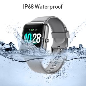 smart watch fitness tracker waterproof