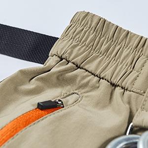 Mens Mountain Bike Biking Shorts, Bicycle MTB Shorts, Loose Fit Cycling Baggy Pants Zip Pockets