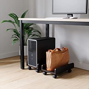 cpu stand, computer tower stand, computer cart, cpu holder