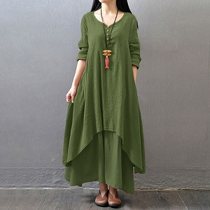 women boho dress