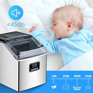 compact ice maker home