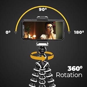 gorilla tripod, gorilla tripod for mobile, tripod, digitek gorilla tripod, gorilla tripod for camera