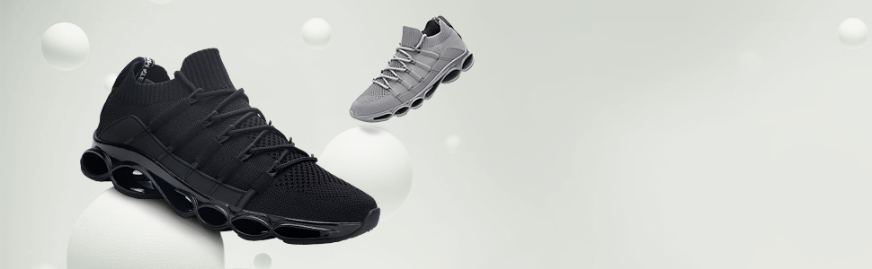 men fashion walking shoes lightweight non-slip