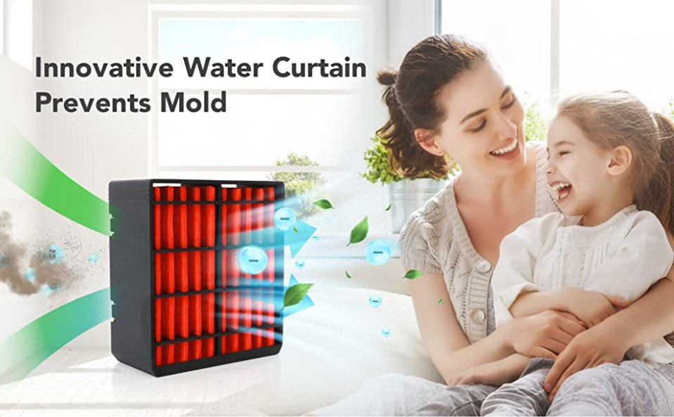 Water Curtain Air Conditioner Air Filter