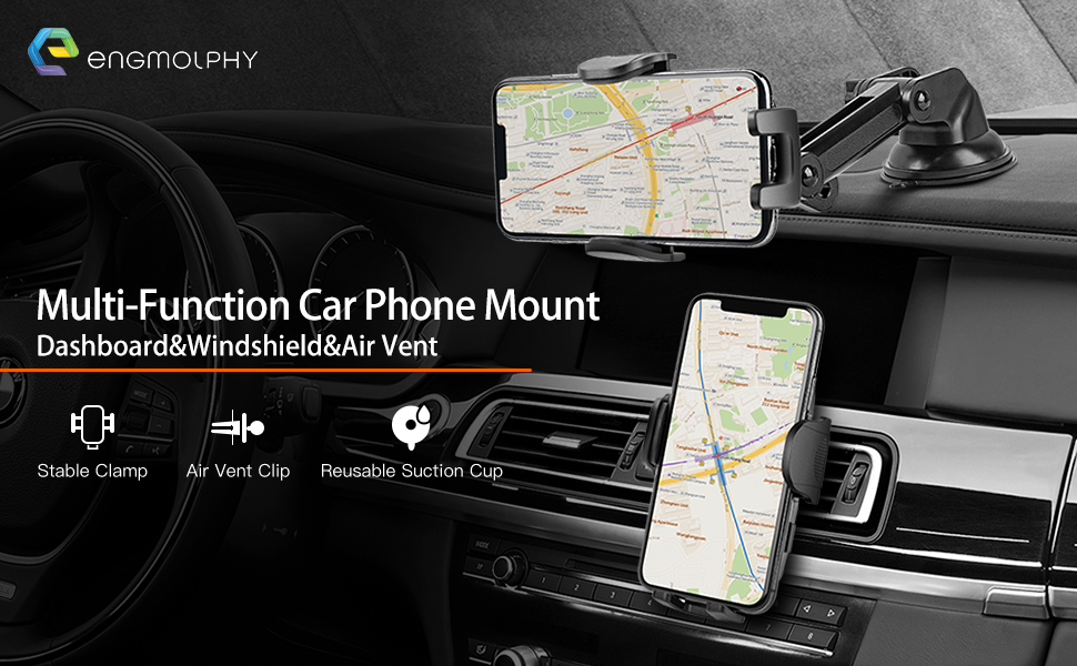 hands free phone holder for car