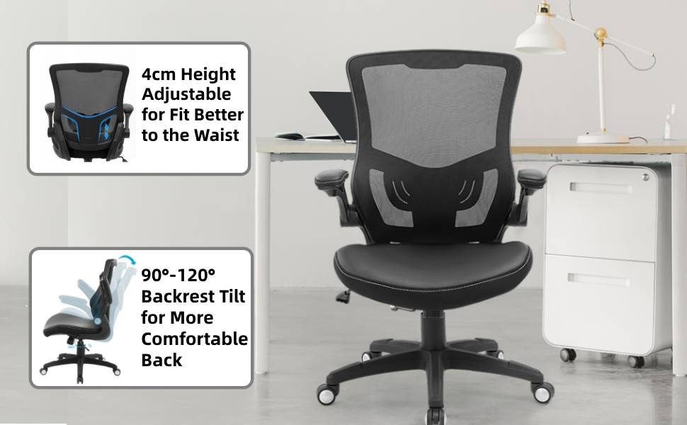 Ergonomic design computer chair