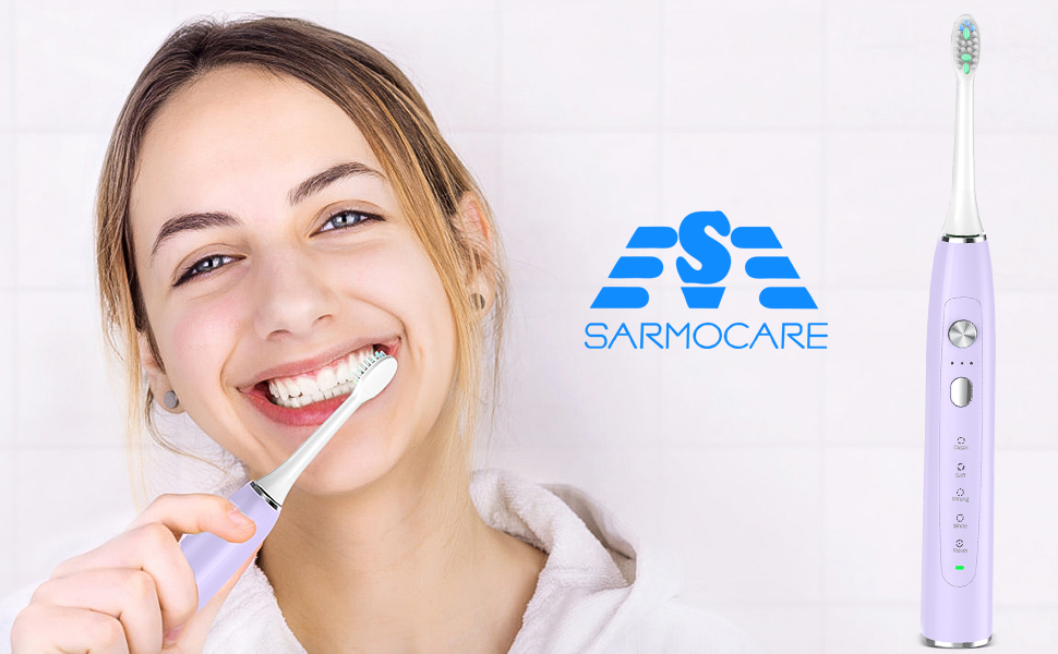sarmocare electric toothbrush