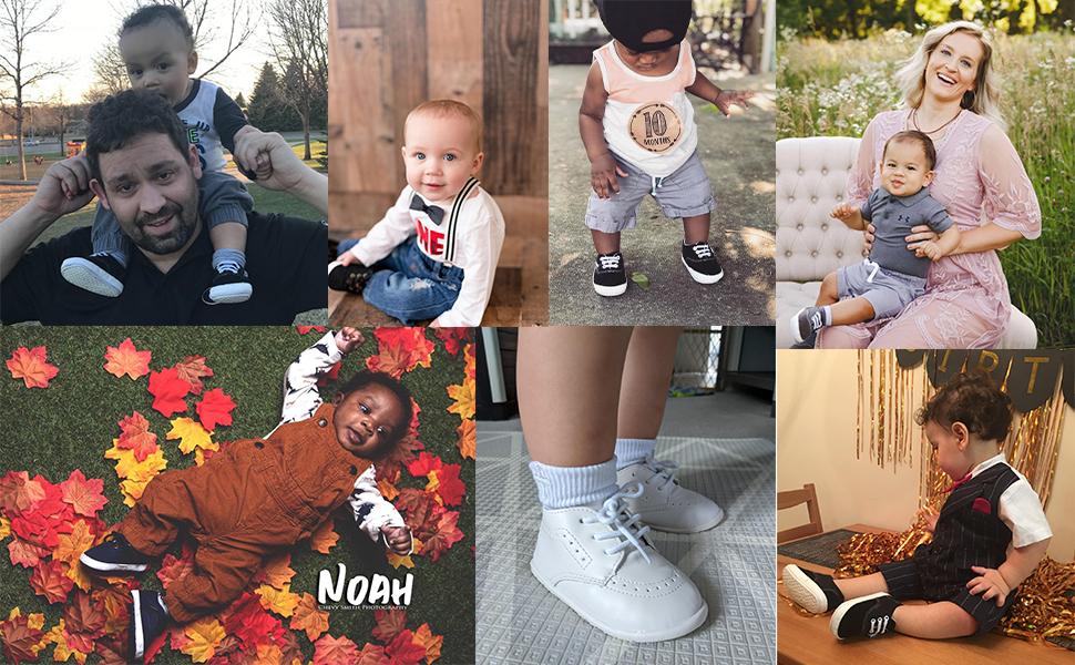 Toddler Little Girl Mary Jane Dress Shoes - Ballet Flats for Easter Flower Girl