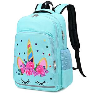 unicorn backpack girls bookbags preschool kindergarten school bag