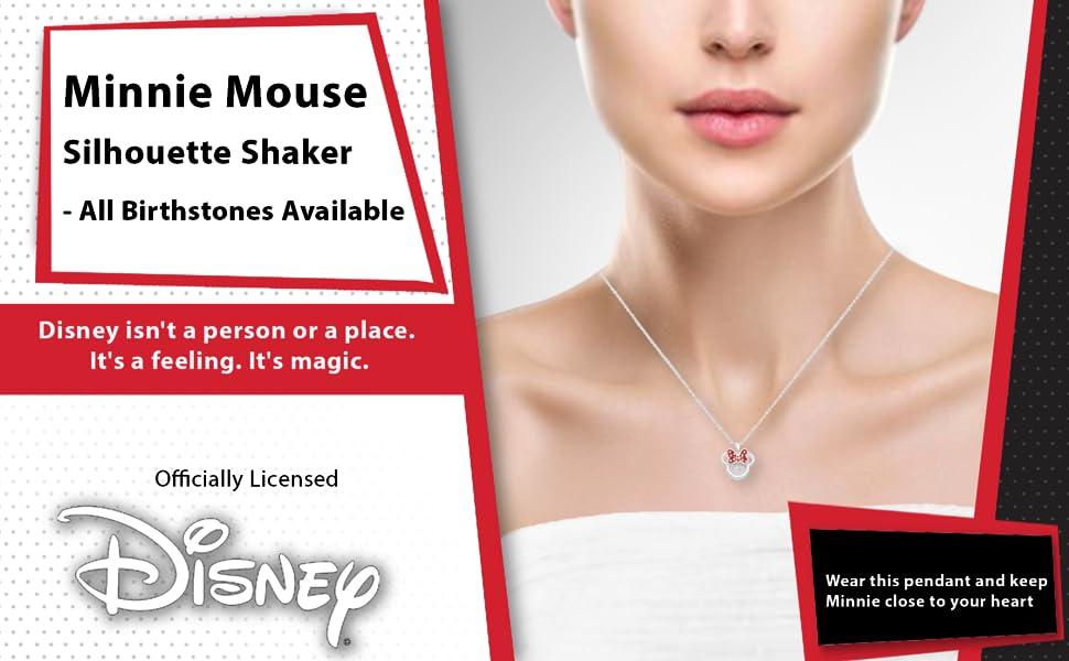 Minnie Birthstone Shaker