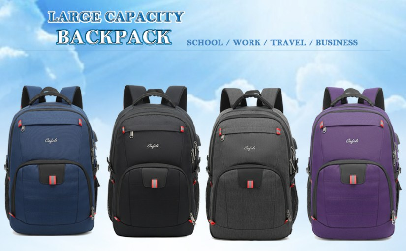 Large backpack for school work travel business,Laptop backpacks,students school bookbags