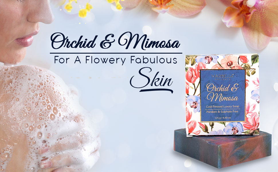 Orchid & Mimosa Cold Pressed Luxury Soap SPN-FOR1