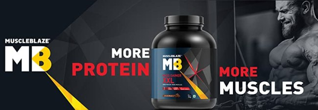 MuscleBlaze mass gaine with More strength and more muscle
