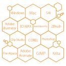 Grafikus táblázatos rajz programok.