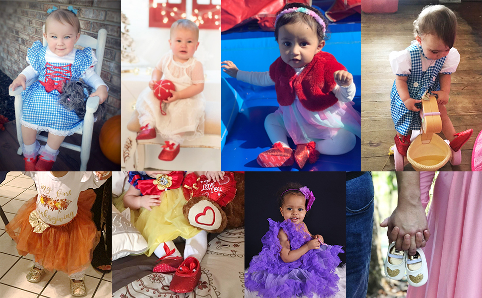 Baby Girl Moccasins Princess Sparkly Mary Jane Dresses Shoes Premium Crib Shoes Toddler Shoes