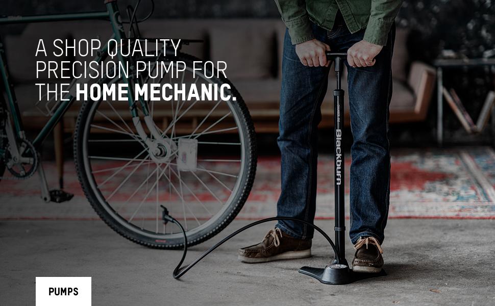 blackburn core pro floor pump bike inflator