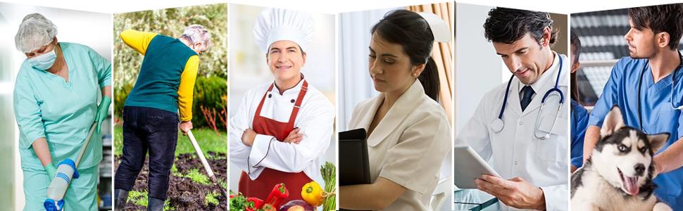 Gartenschuhe Arbeitsschuhe Küche Kochschuhe Laborschuhe Pflegerschuhe Erwachsene Clogs