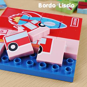 Traffic Puzzle di plastica