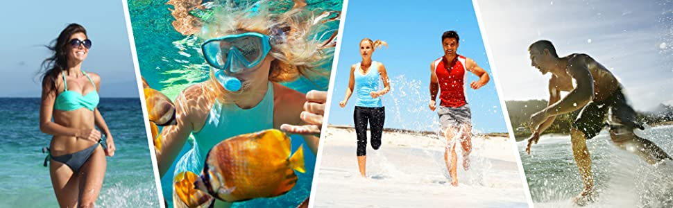 Athletic Hiking Water Shoes Barefoot Aqua Swim Sports Sandals Walking Shoes for Women Men