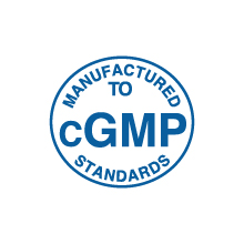 Manufactured to cGMP Standards